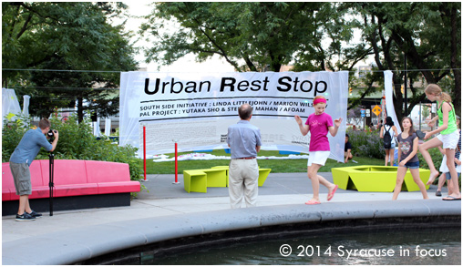 Urban Rest Stop: Public Art Installation