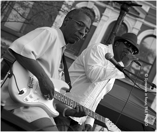 Jeff and Mike Houston (aka J Project) played Hanover Square in 2006