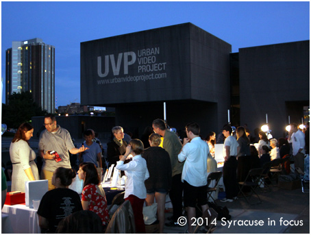 Urban Video Project (Everson Museum Plaza)
