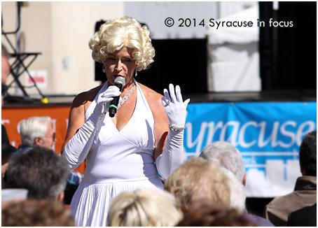 Deb Mulpagano as Marilyn (put a ring on it post)