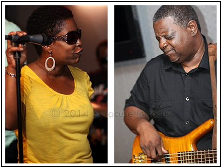 Donna Alford and Reggie Seigler led the Donna Alford JaSS band brought some brand new funk to the Sitrus Lounge on Friday night.