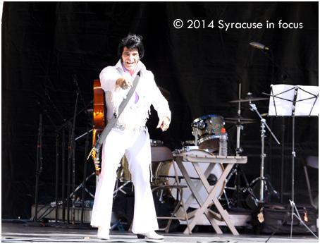 Nick as Elvis