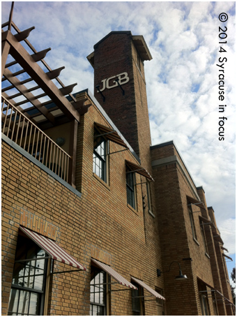 JGB Headquarters is located in a former firehouse near the Inner Harbor.