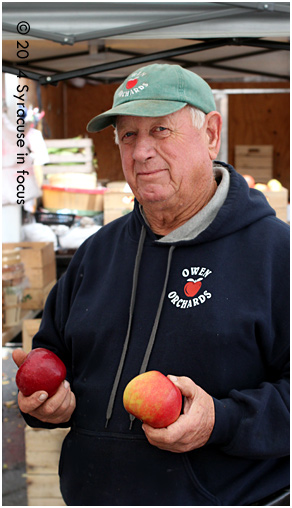 Gordon Tripp, farmer (Owen Orchards)