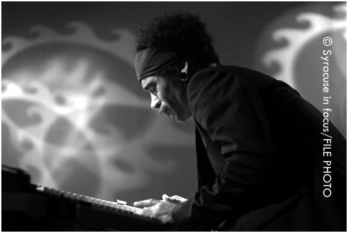 Neal Evans played at the Westcott Theater with Soulive in 2009.
