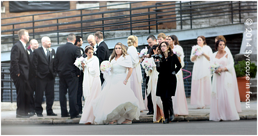 A late Autumn Wedding Story in Armory Square