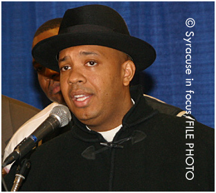 Rev. Run at the Syracuse Hip Hop Summit (circa 2004)