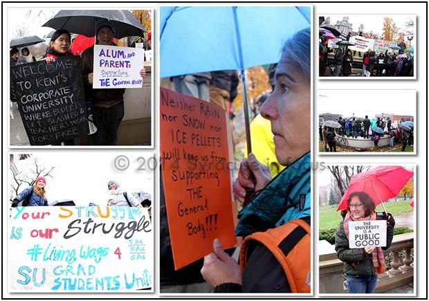 Fight Back: Syracuse University campus protest