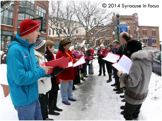 Christmas Carols, Franklin Street