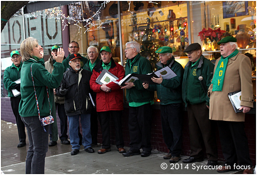 Dr. Tom Dooley Choraliers in Armory Square