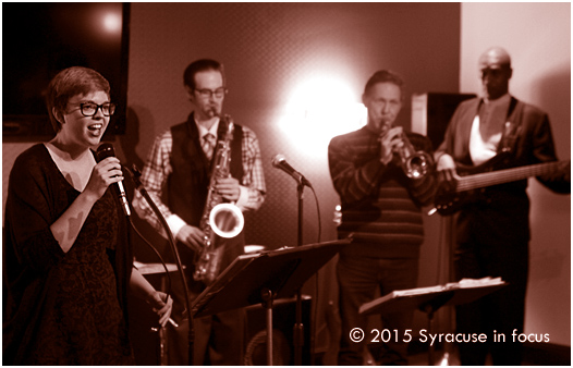 Samantha Spadafore belts out a tune during Jazz @ Sitrus on Friday night.J