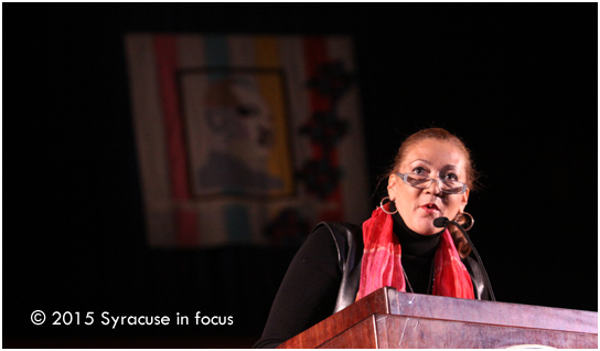Journalist Michele Norris was the featured speaker for the 30th Annual Dr. Martin Luther King, Jr. Celebration at Syracuse University.