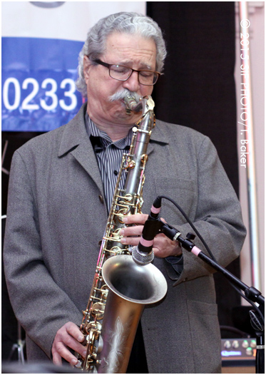 Ralph Lalama played January JAZZfest in the Mohegan Manor Ballroom