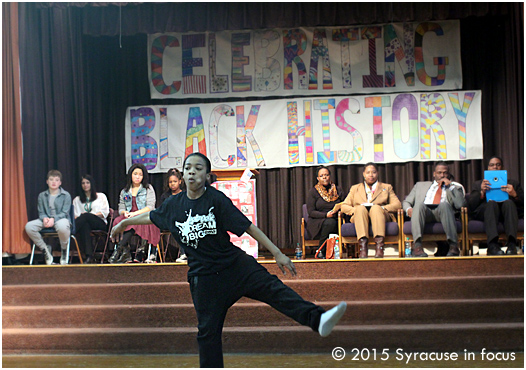 The event kicked off with a dance performance by the Young and Talented group.