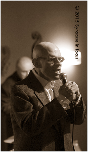 Scott Dennis sang for Jazz @ Sitrus on Friday night.