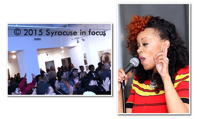 Vocalist Lydia Caesar at CFAC