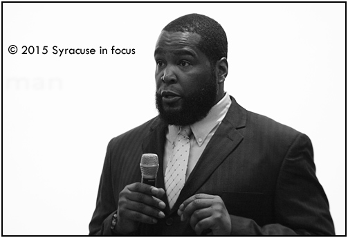 Dr. Umar Johnson, author, educator and descendant of Frederick Douglass