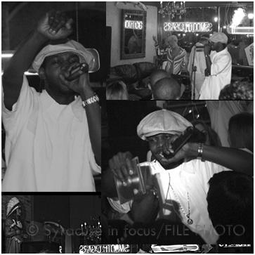 Dwele at Awful Al's Cigar Bar (circa 2003)