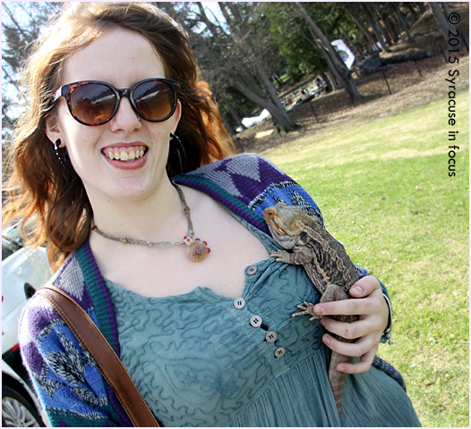 People & Their Pets (Bearded Dragon)