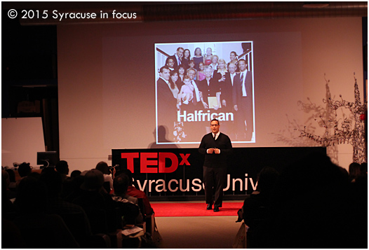 Another of our favorites from the TEDx event was Doug Melville, who talked about using diversity as personal currency.