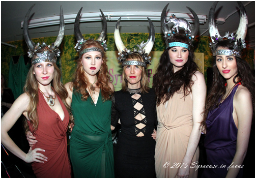 Horn Section: Headwear by Michelle Darin (Syracuse Fashion Week, Day 3)
