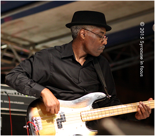 Syracuse's Ace of the Bass played the Delta Air Lines Clinton Square Stage at the Taste of Syracuse on Friday.