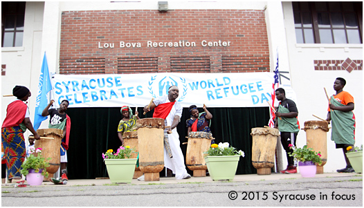 World Refugee Day, Schiller Park