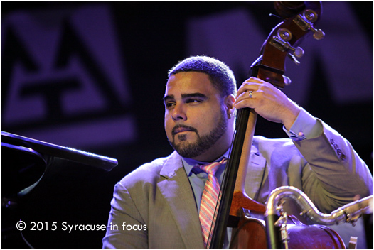 Jazz at Lincoln Center's Carlos Henriquez tuned things up at the Syracuse Jazz Fest this weekend.