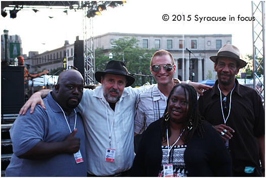 Hot Chicago Blues goes well with Hot Syracuse Weather, all courtesy of the group Mississippi Heat.