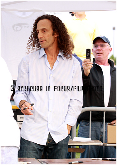 For this 33rd edition of the Art of Photography we give you a throwback from the 2009 Jazz Festival. Here a fan snaps a picture of Kenny G as he signs autographs. Check the flip phone and the steady hand. The 33rd Annual Jazz Fest kicks off tomorrow at OCC.