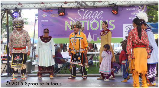 Traditional Dancing, Stage of Nations, Blue Rain EcoFest