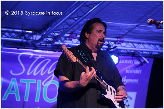 Coco Montoya was the headliner for Saturday night's concert.
