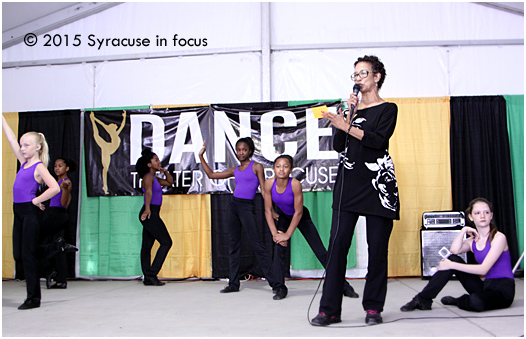 The Dance Theater of Syracuse opened the Mark Wright Stage at the Pan African Village earlier today. Director Cheryl Wilkins-Mitchell explains the student performance.