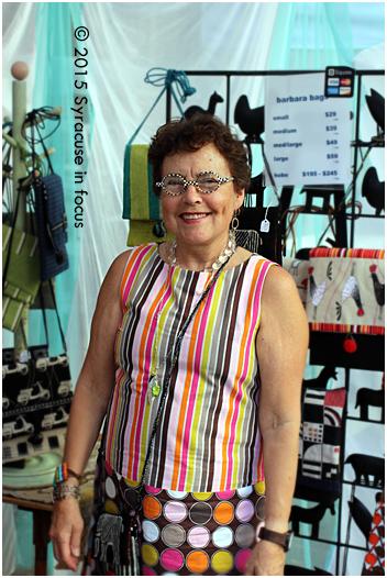 Barbara Conte-Gaugel, artist, style setter.
