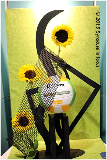 Artistic Flower Design Division, First Director's Award, Michelle Syne of Ogdensburg Garden Club.