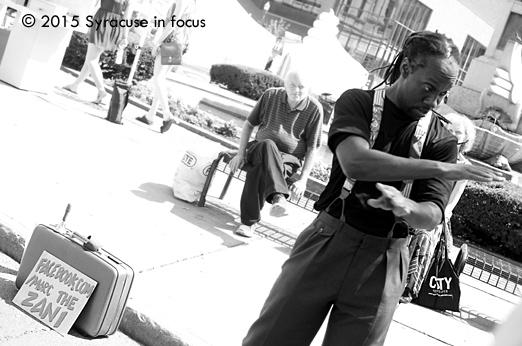 Marc the Zani, street performer