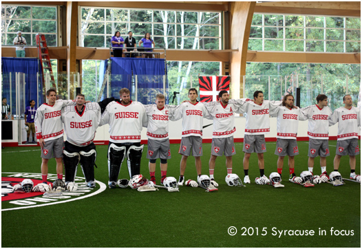 World Indoor Lacrosse Championship (pre-game)