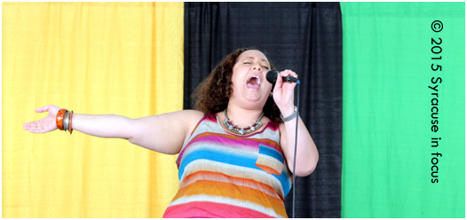 CNY's Tamar would be the perfect choice to sing the National Anthem at a Syracuse v Georgetown or Syracuse v. Duke game.