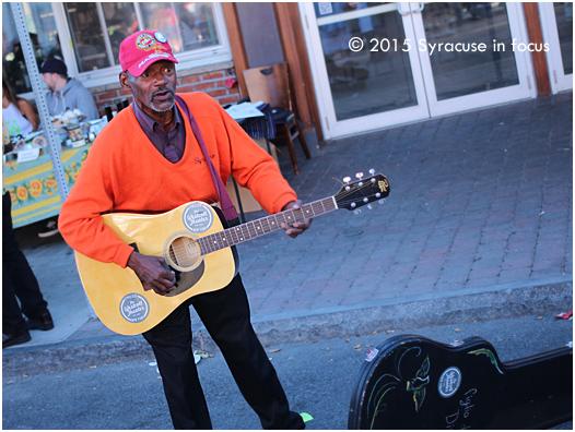 Elijah Harris, Jr., Street Musician