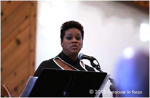 "Vocalist Winsome Graham sang at ""Falling Leaves, Lifted Hearts"" a collaboration between The United Church of Christ in Bayberry and the CNY Jazz Arts Foundation."