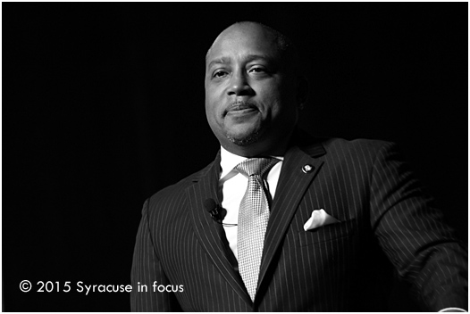 Daymond John, author, television star, fashion entrepreneur and business consultant , was the keynote speaker at this year's Brazzlebox Summit.