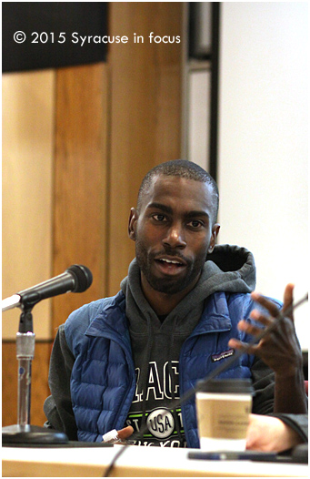 Educator-turned-activist DeRay Mckesson visited Syracuse University for the Blacktivism Conference. In the clip below, he talked about how he began in the movement.