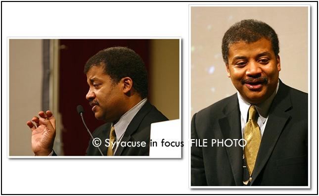 Neil deGrasse Tyson at University Lecture Series (about a decade ago)