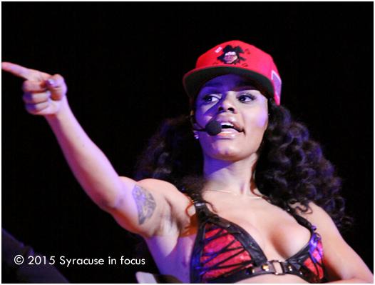 Teyana Taylor at SU
