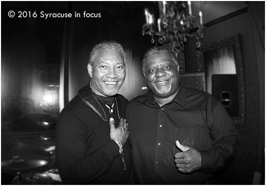 Dr. Alphonso Sanders with Mr. Soft Spoken aka Reggie Seigler