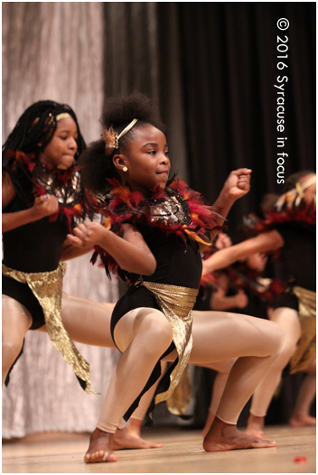 Cuse Divas danced everything from Coming to America to Beyonce for the Syracuse City School District's Community Martin Luther King Jr. Celebration (Nottingham High School)