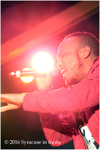 Anderson Paak and his band The Free Nationals performed in Syracuse on Wednesday.