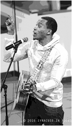 Jonathan McReynolds played Gospel Mania 2016 at Syracuse University.