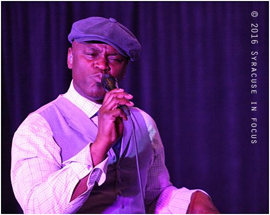 Singer Ola Onabule stormed into the Cuse on Sunday (Sheraton Hotel)