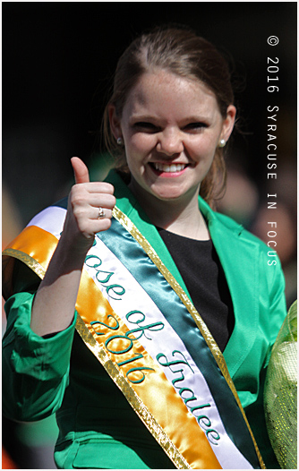 Colleen Byrnes: Syracuse Rose of Tralee 2016